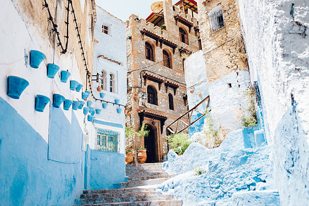 The Moroccan Blue City, Chefchaouen Wall Art