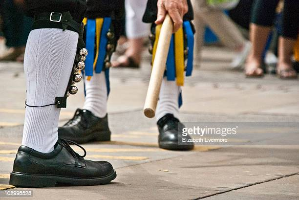 the morris dancers - morris dancing stock photos and pictures