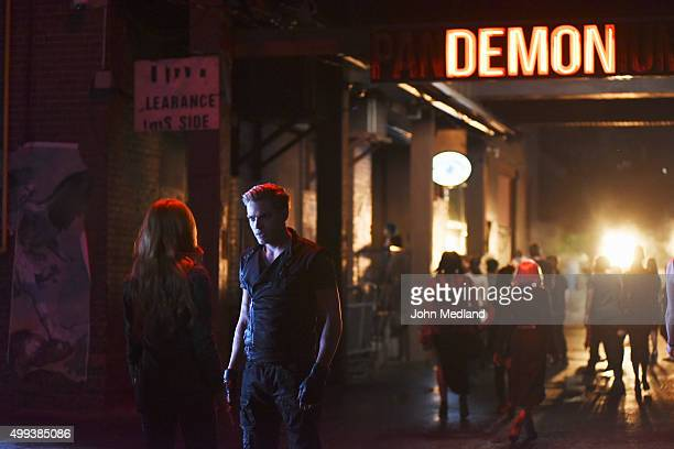 SHADOWHUNTERS The Mortal Cup One young woman realizes how dark the city can really be when she learns the truth about her past in the series premiere...