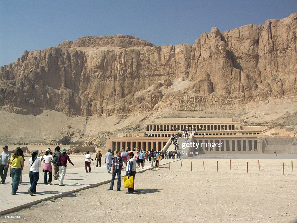 Hatshepsut's Temple, Luxor, Egypt : News Photo