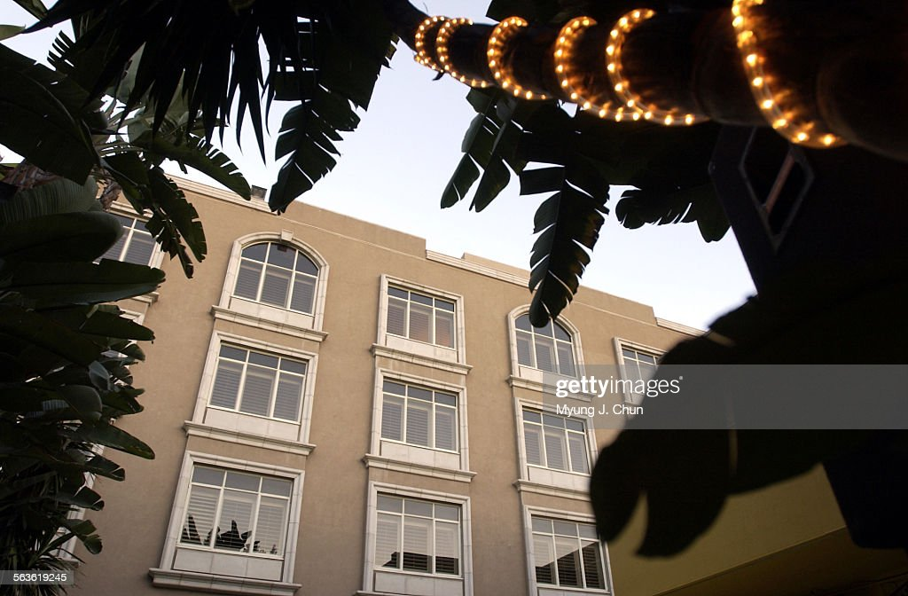 The Mosaic Hotel located at 125 S. Spalding (cq) Drive in Beverly Hills offers a luxurious and fashi : News Photo