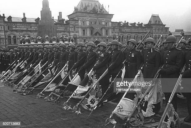 The Moscow Victory Parade June 24 1945 Found in the collection of Russian State Film and Photo Archive Krasnogorsk