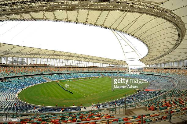 The Moses Mabhida Stadium in Durban South Africa one of the host city venues of the FIFA 2010 South Africa World Cup