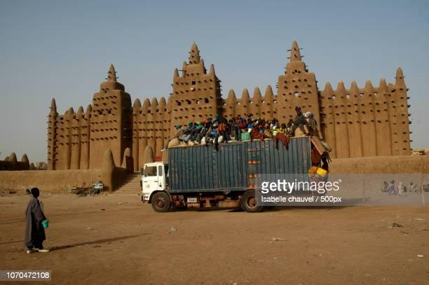 the mosque Djenne Mali