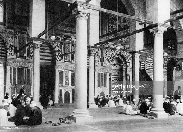The Mosque of ElMouayad Cairo Egypt c1920s Plate taken From In the Land of the Pharaohs published by Lehnert Landrock