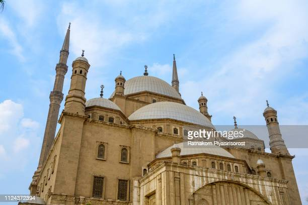 The Mosque of Muhammad Ali Pasha in Cairo, Egypt
