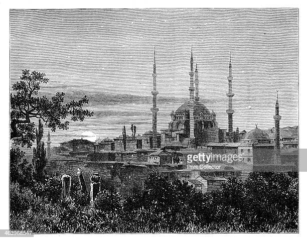 The Mosque of Selim II at Adrianople, Turkey, c1888. Illustration from The Life & Times of Queen Victoria, Vol II, by Robert Wilson, .