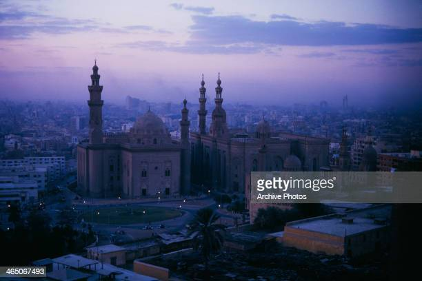 The MosqueMadrassa of Sultan Hassan in Cairo Egypt circa 1960