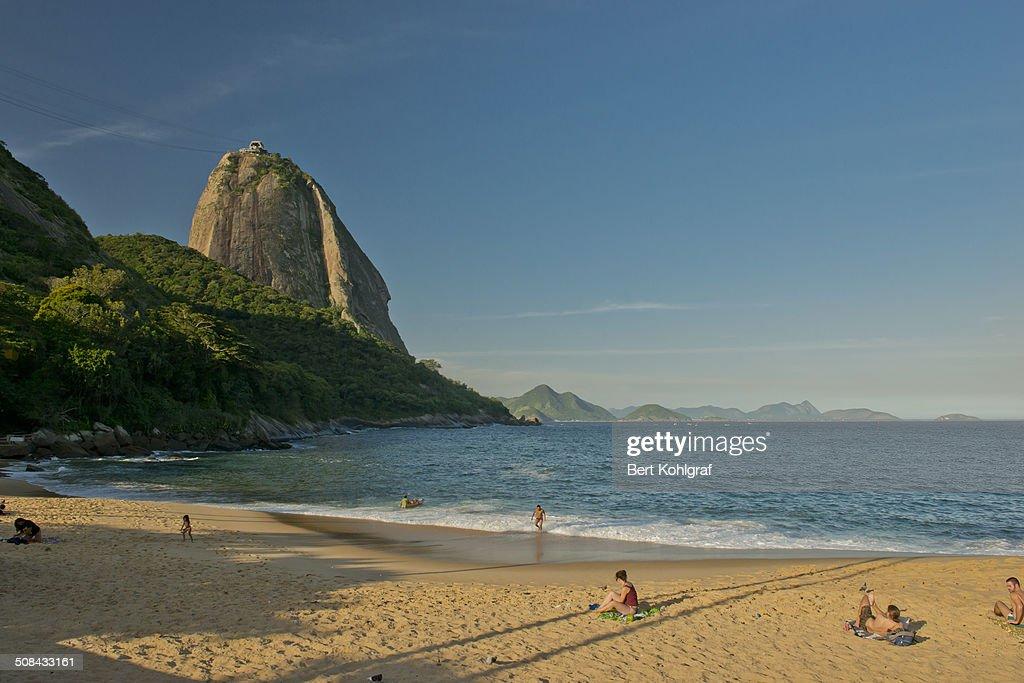 Praia Vermelha, Rio de Janeiro : News Photo