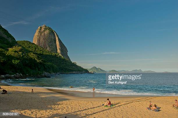 The most beautiful beach in Rio de Janeiro, perfect view to Sugarloaf.