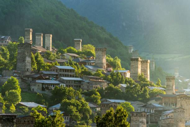 The Most Beautiful Village Ii Mestia Georgia Mesti