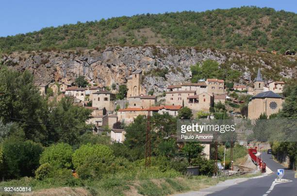 the most beautiful villages in the south of france - aveyron photos et images de collection