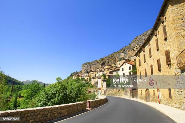 the most beautiful villages of france - aveyron photos et images de collection