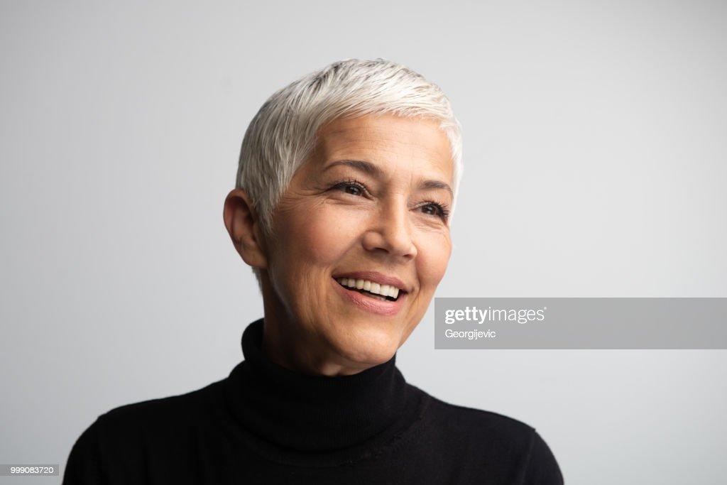 The Most Beautiful Woman : Stock Photo