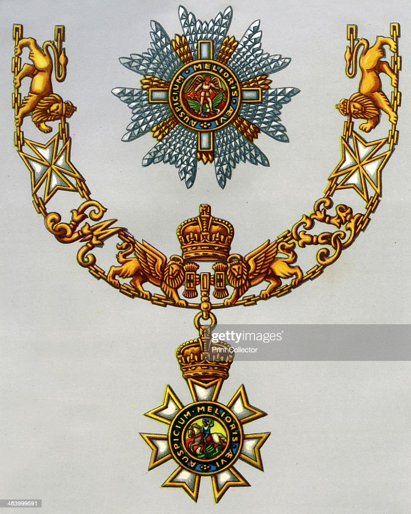 the most distinguished order of st michael and st george 1941 the