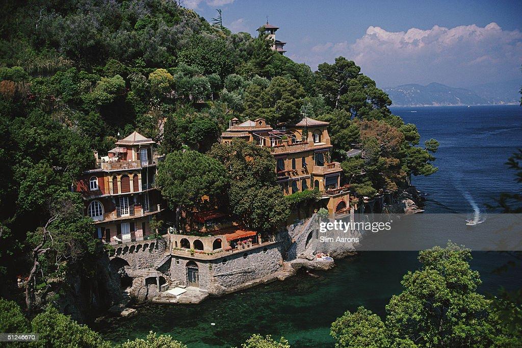 1985, The most exclusive fishing village in Italy, Portofino, on Italy's Ligurian coast.