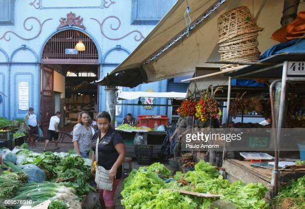 The most famous market in Belém,Brazil