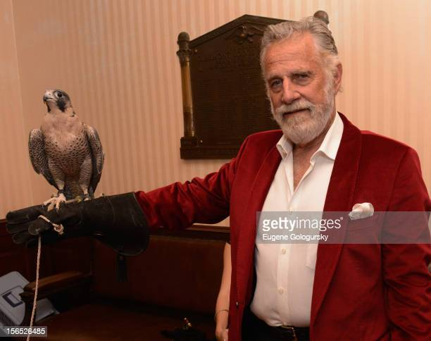 The Most Interesting Man in the World attends Dos Equis Masquerade on November 15 2012 in New York City