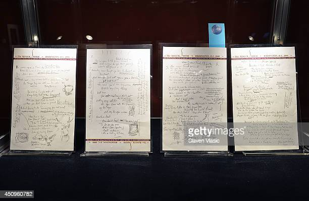 The most popular manuscript ever to apper at auction Bob Dylan's original hand written lyrics for the 1965 epic 'Like A Rolling Stones' shown at the...