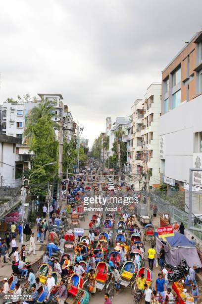 the most populated city in the world - dhaka stock pictures, royalty-free photos & images