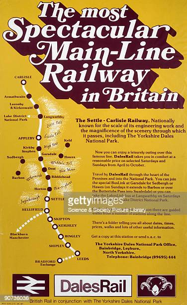 The Most Spectacular MainLine Railway in Britain' BR/DR poster 1977 'At King's Cross We call this the Throat It'll take us 9 weeks to clear it'...