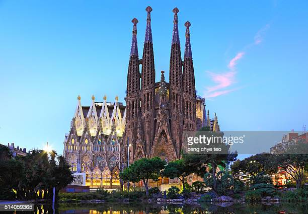 The most splendid church of Gaudi