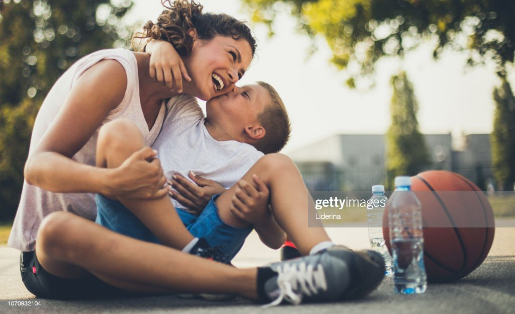 The most valuable kiss in the world. : Stock Photo