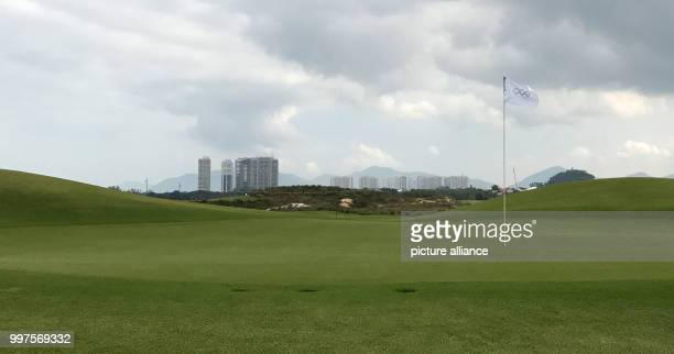 The mostly empty Olympic golf course in Rio de Janeiro Brazil 22 July 2017 Photo Georg Ismar/dpa