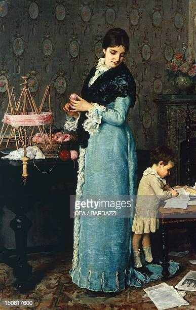 The mother by Silvestro Lega