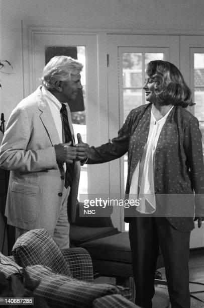 MATLOCK The Mother Episode 1 Pictured Andy Griffith as Benjamin Matlock Shirley Knight as Phyllis Todd Photo by NBCU Photo Bank