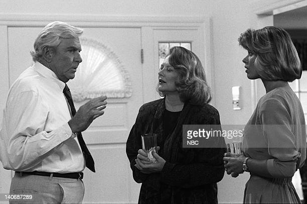 MATLOCK The Mother Episode 1 Pictured Andy Griffith as Benjamin Matlock Shirley Knight as Phyllis Todd Beth Toussaint as Andrea Todd Photo by NBCU...