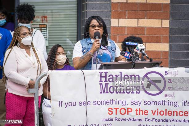 The mother of Brandon Hendricks speaks about loosing her son to gun violence. Harlem Mothers Stop Another Violent End commemorates National Day of...