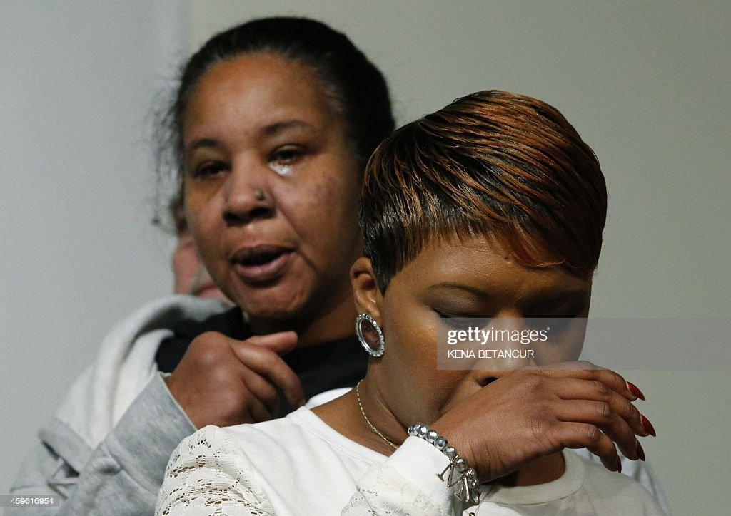 The Mother Of Michael Brown Lesley Mcspadden And The Wife Of Slain