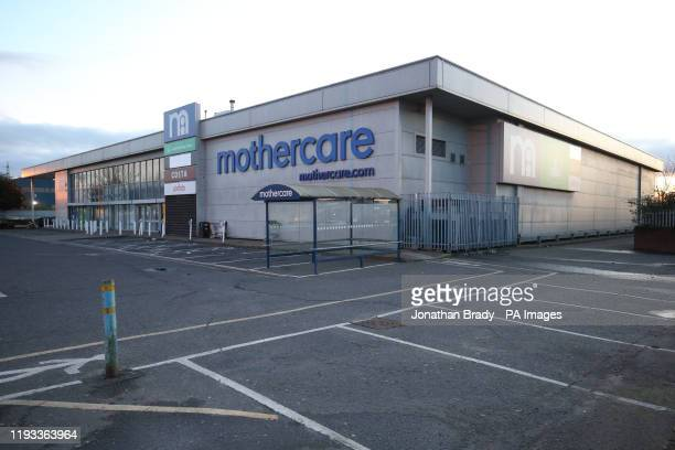 The Mothercare store in Edmonton London on the company's final day of trading Collapsed retailers Mothercare and Debenhams are shutting down stores...