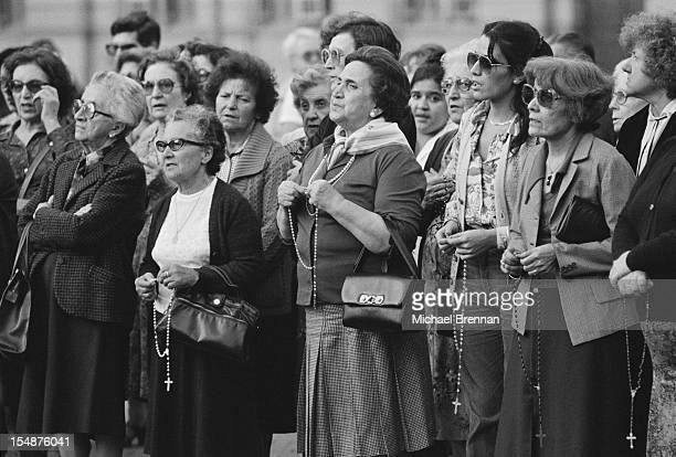 The Mothers of the Plaza de Mayo gather in Buenos Aires April 1982 They are women whose children 'disappeared' during the Dirty War of 1976 1983 in...
