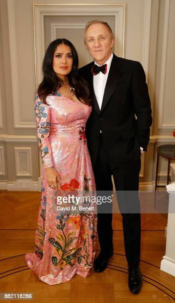 The mothers2mothers Winter Fundraiser hosted by Salma Hayek Pinault and FrancoisHenri Pinault The dinner is in support of mothers2mothers' work to...