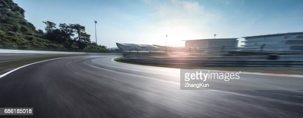 the motor racing track - motorsport bildbanksfoton och bilder