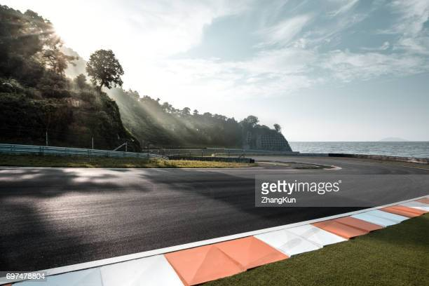 the motor racing track - motorsport stock pictures, royalty-free photos & images
