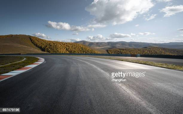 The motor racing track