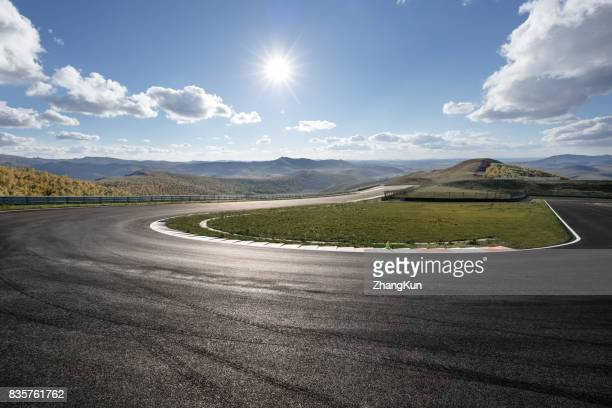 the motor racing tracks - motor racing track stock pictures, royalty-free photos & images