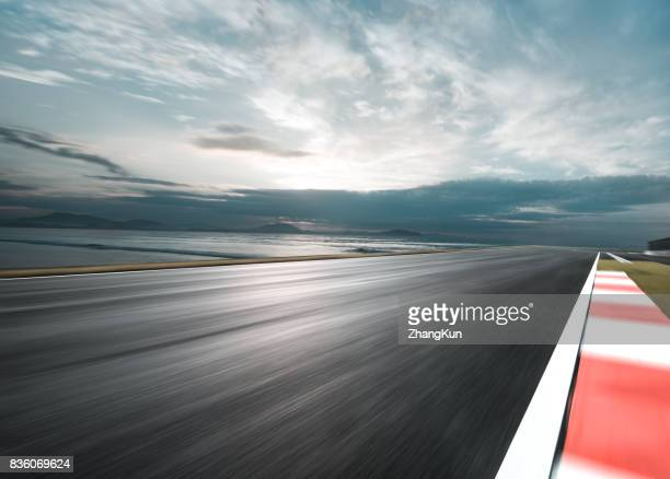 the motor racing tracks - sports track stock pictures, royalty-free photos & images