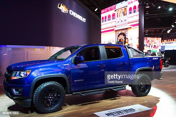 The Motor Trend Truck of the Year Chevrolet Colorado on display at the North American International Auto Show in Detroit Michigan Toronto Star/Todd...