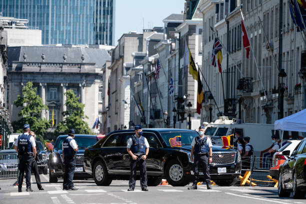 BEL: NATO Summit Underway In Brussels