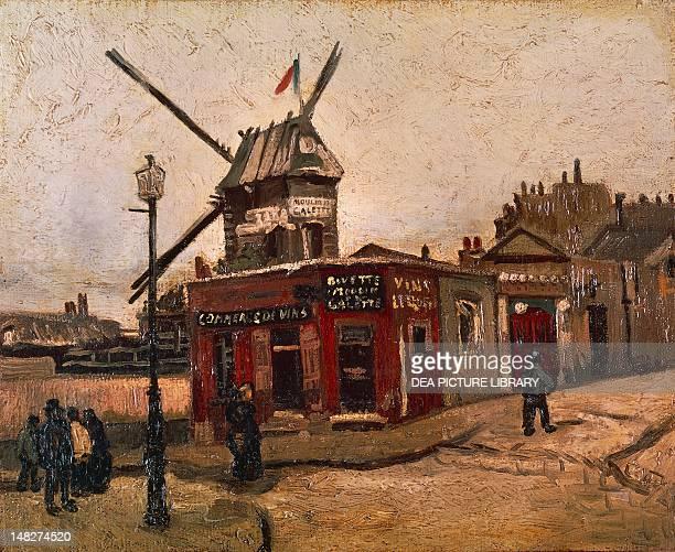 The Moulin de la Galette by Vincent van Gogh Berlin Alte Nationalgalerie