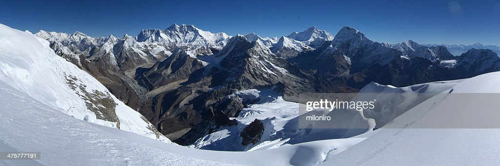 The Mount Everest : Stock-Foto