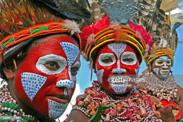 CONTENT] The Mount Hagen show is one of the two most important tribal gathering in Papua New Guinea with more than 70 different tribes
