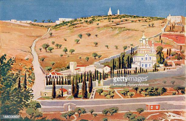 The Mount Of Olives Jerusalem Palestine Circa 1910 From A Book Of Modern Palestine By Richard Penlake Published C1910