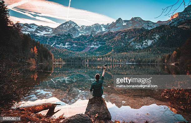 The mountain lake explorer.