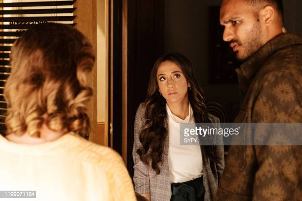 THE MAGICIANS The Mountain of Ghosts Episode 503 Pictured Stella Maeve as Julia Wicker Arjun Gupta as Penny Adiyodi