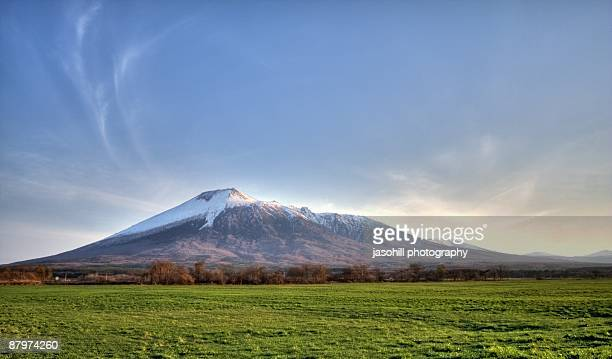 the mountain - iwate prefecture stock photos and pictures